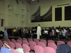 Rehearsal at Clarinet Convention 2014 with Peter Fielding and Roma Cafolla